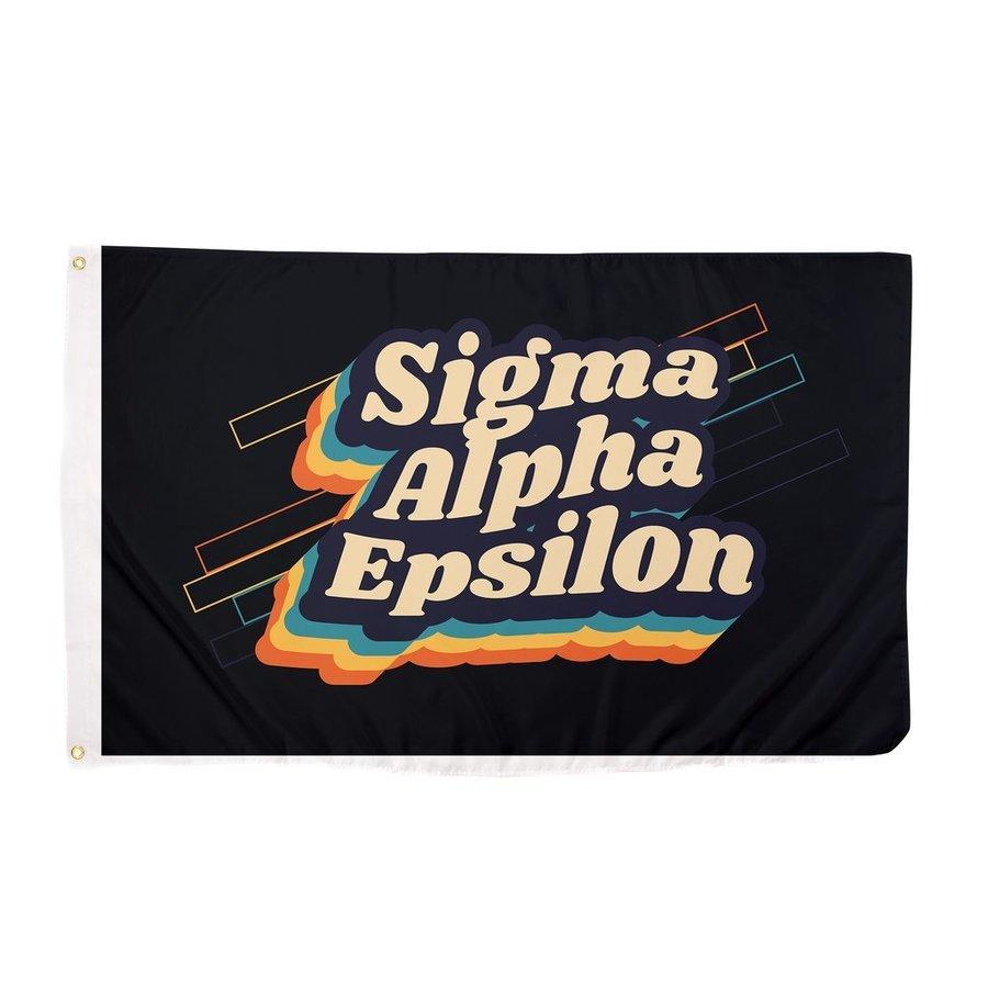 Sigma Alpha Epsilon 70's Flag