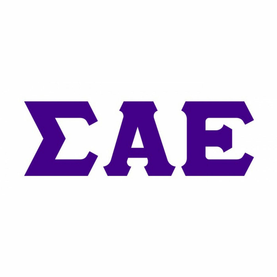 Sigma Alpha Epsilon Big Greek Letter Window Sticker Decal