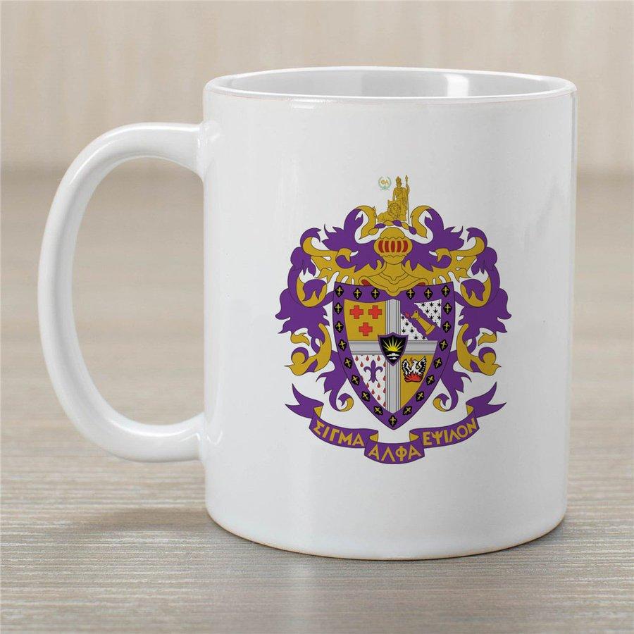 Sigma Alpha Epsilon Greek Crest Coffee Mug