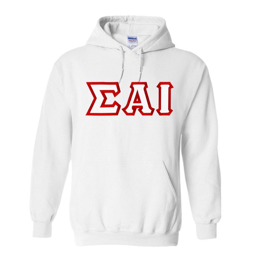 Sigma Alpha Iota Custom Twill Hooded Sweatshirt