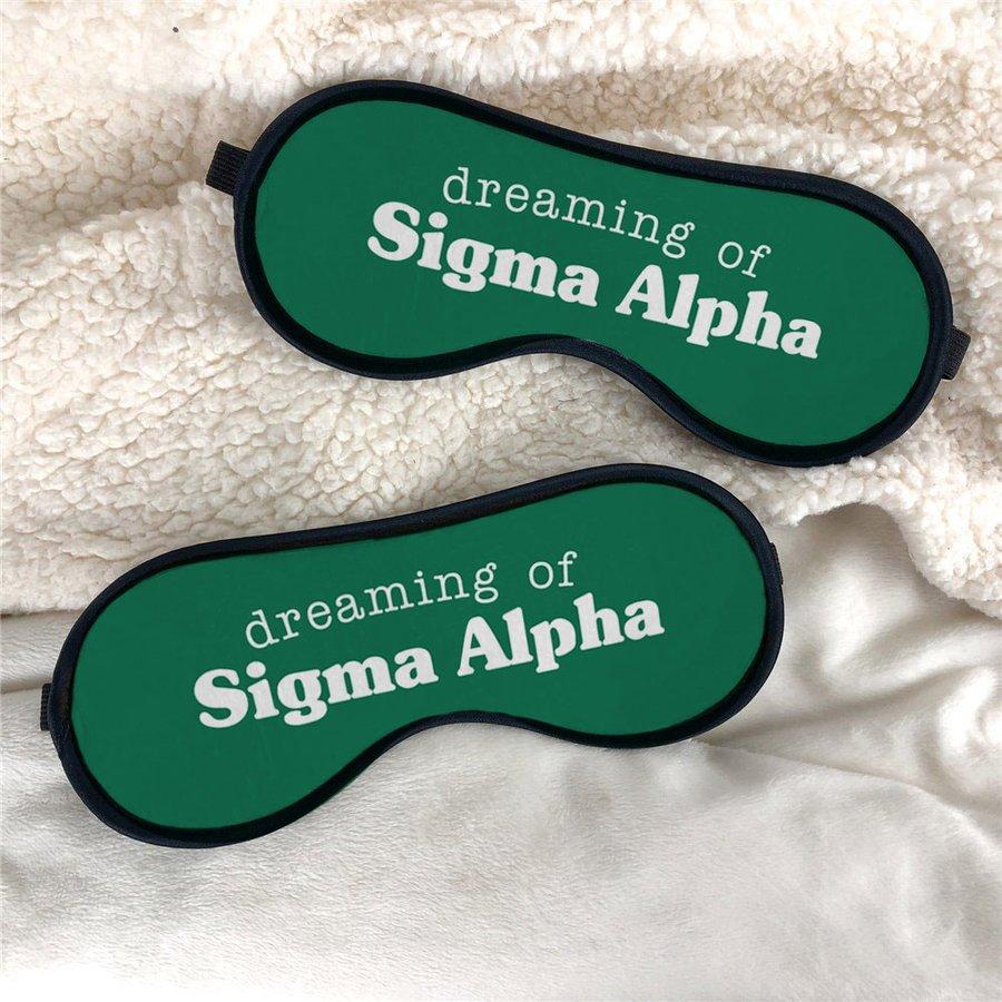 Sigma Alpha Sweet Dreams Eye Mask