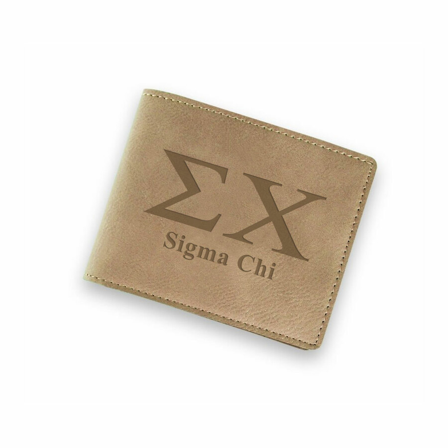 Sigma Chi Fraternity Wallet