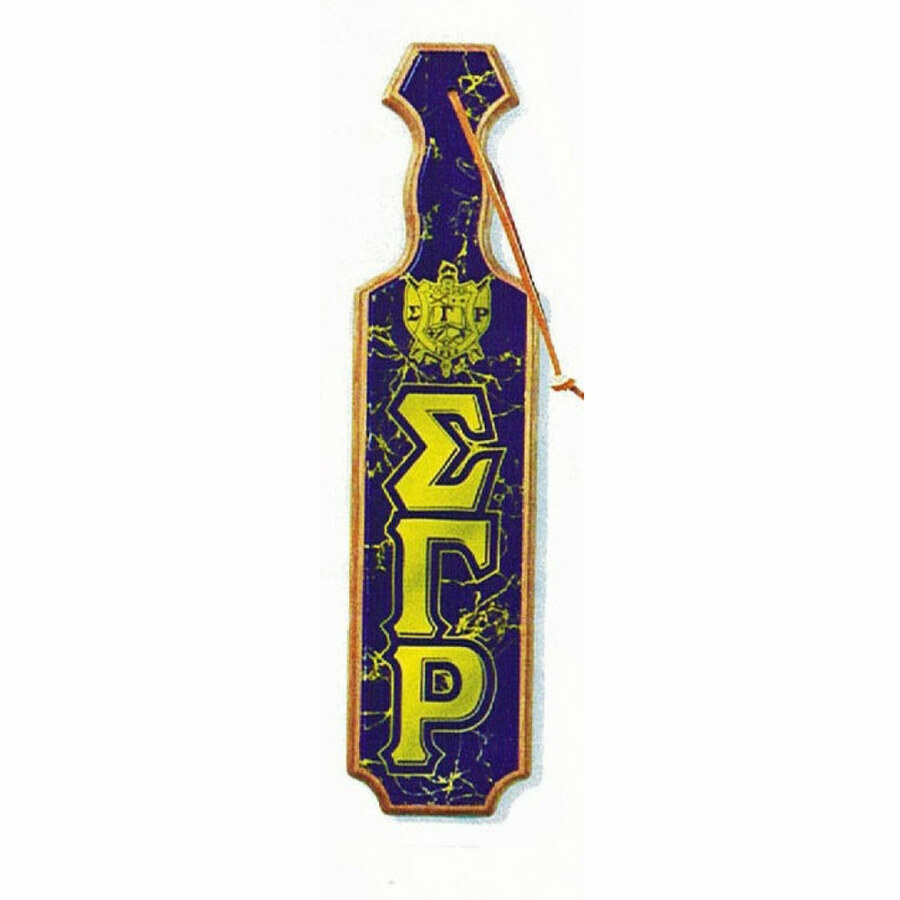 Sigma Gamma Rho Paddles Domed