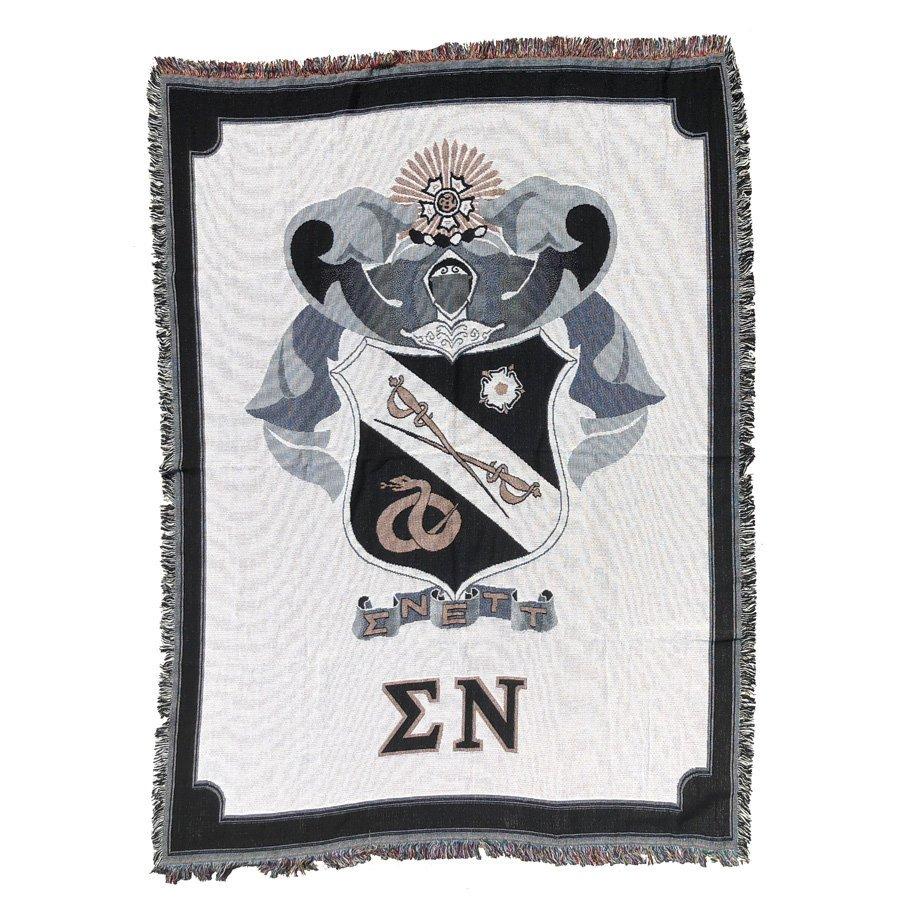 Sigma Nu Afghan Blanket Throw