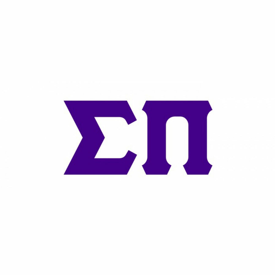 Sigma Pi Big Greek Letter Window Sticker Decal