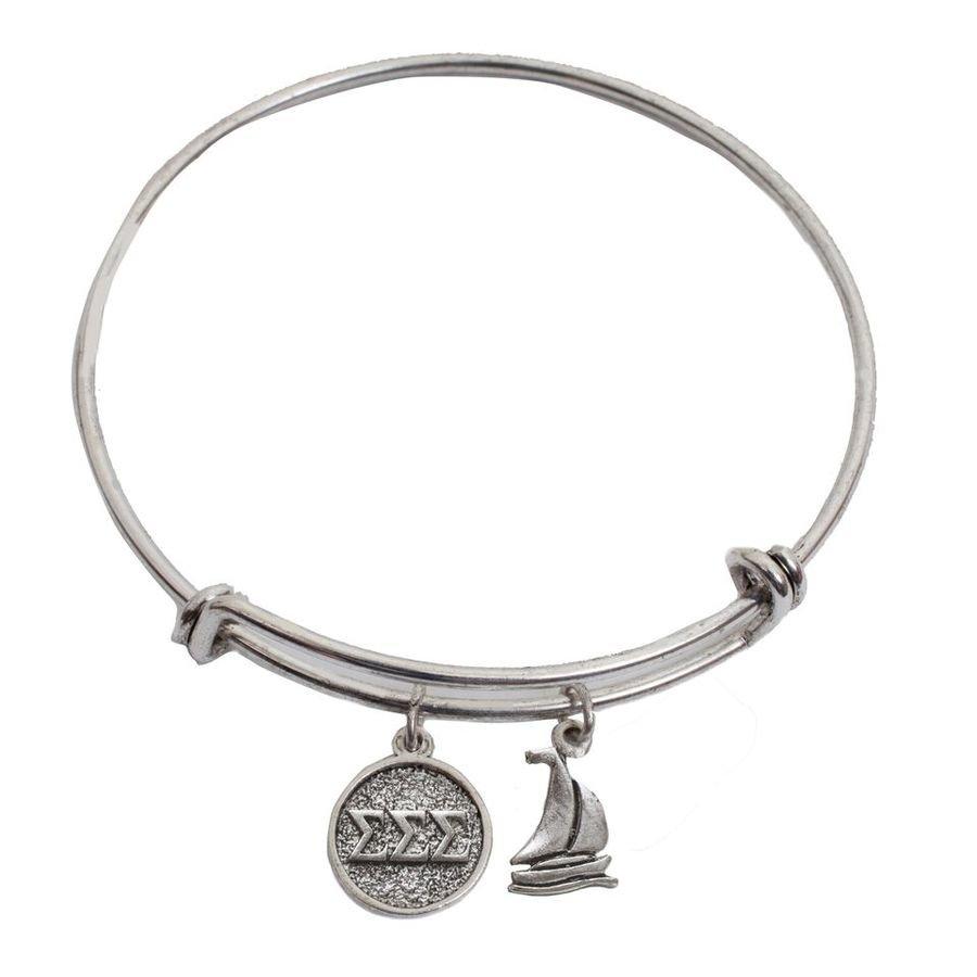 Sigma Sigma Sigma Expandable Bracelet