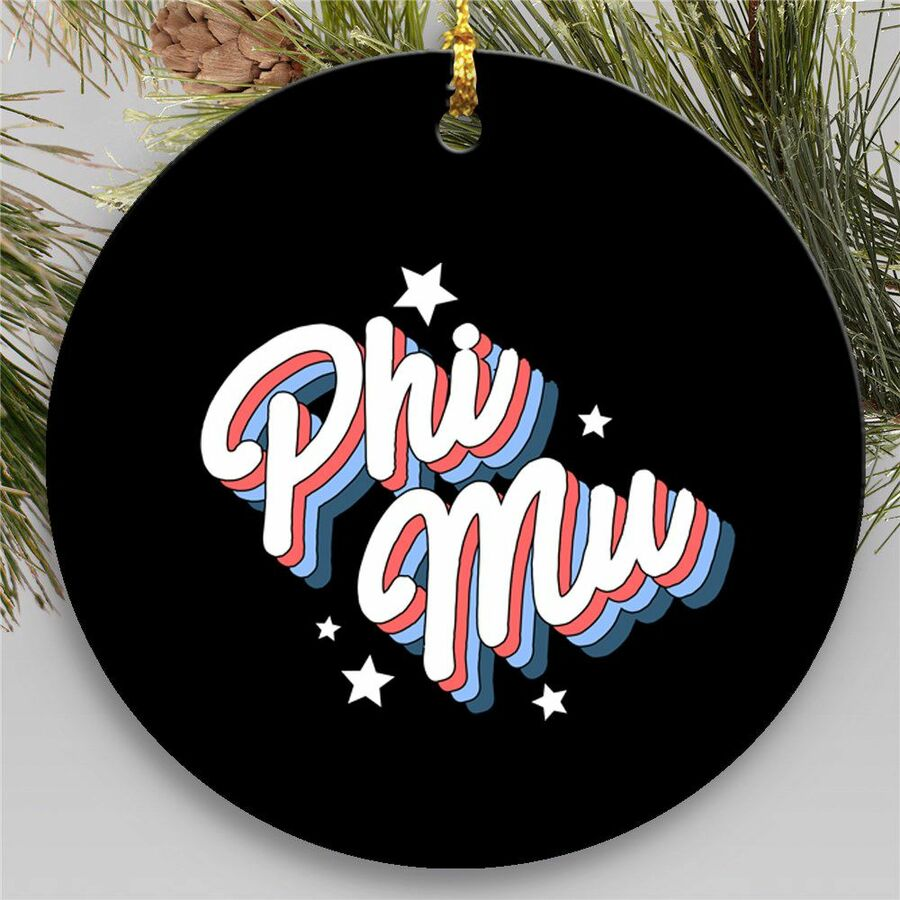 Sorority Holiday Flashback Ornament