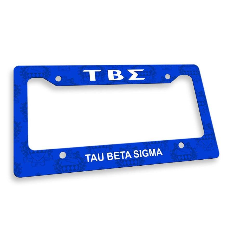 Tau Beta Sigma License Plate Frame
