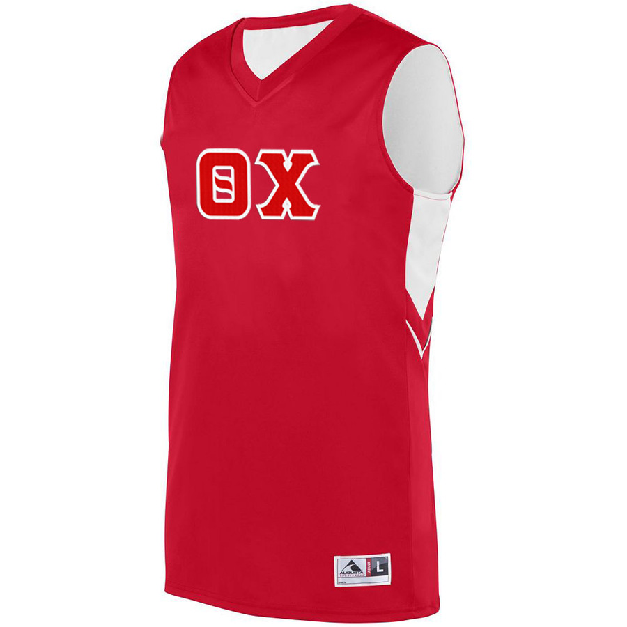 DISCOUNT-Theta Chi Alley-Oop Basketball Jersey