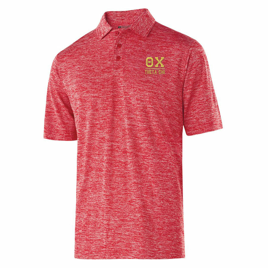 Theta Chi Greek Letter Electrify Polo