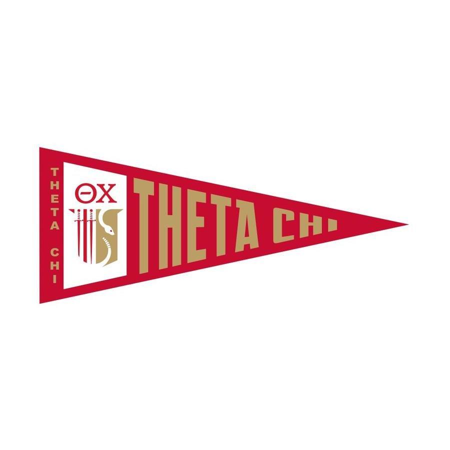 Theta Chi Wall Pennants