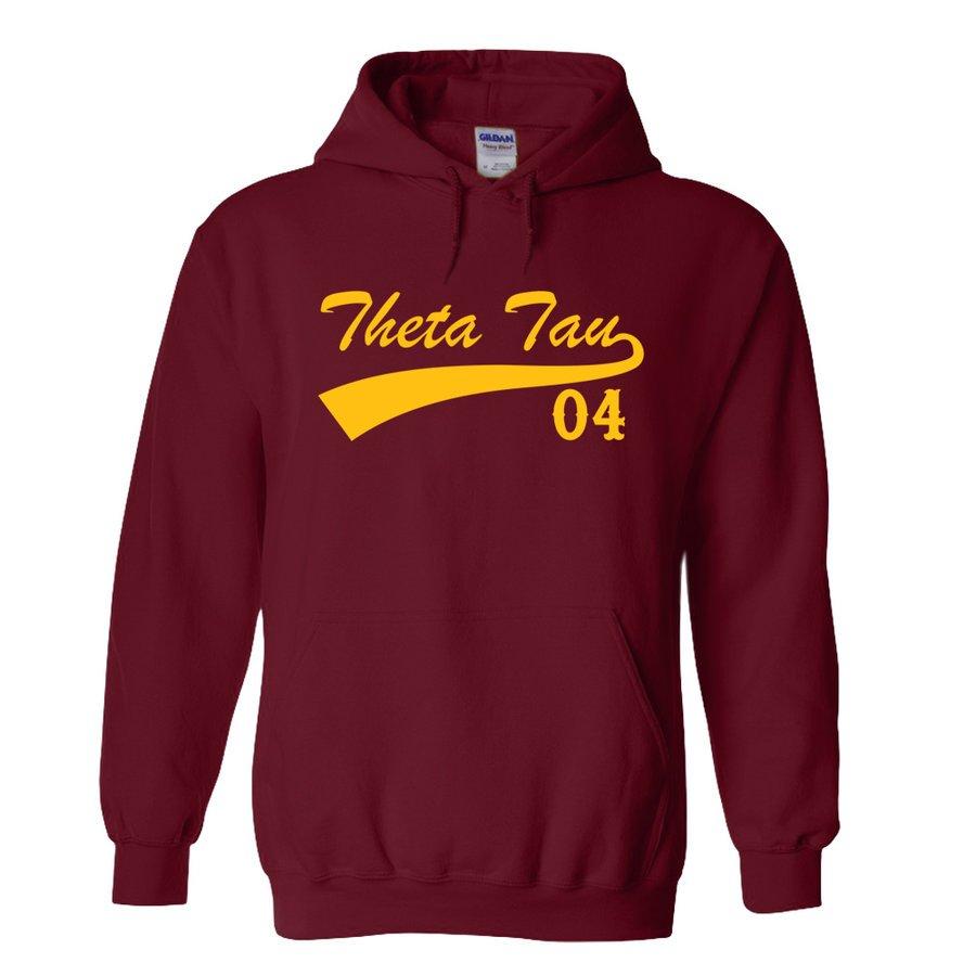 Theta Tau Tail Hoodie