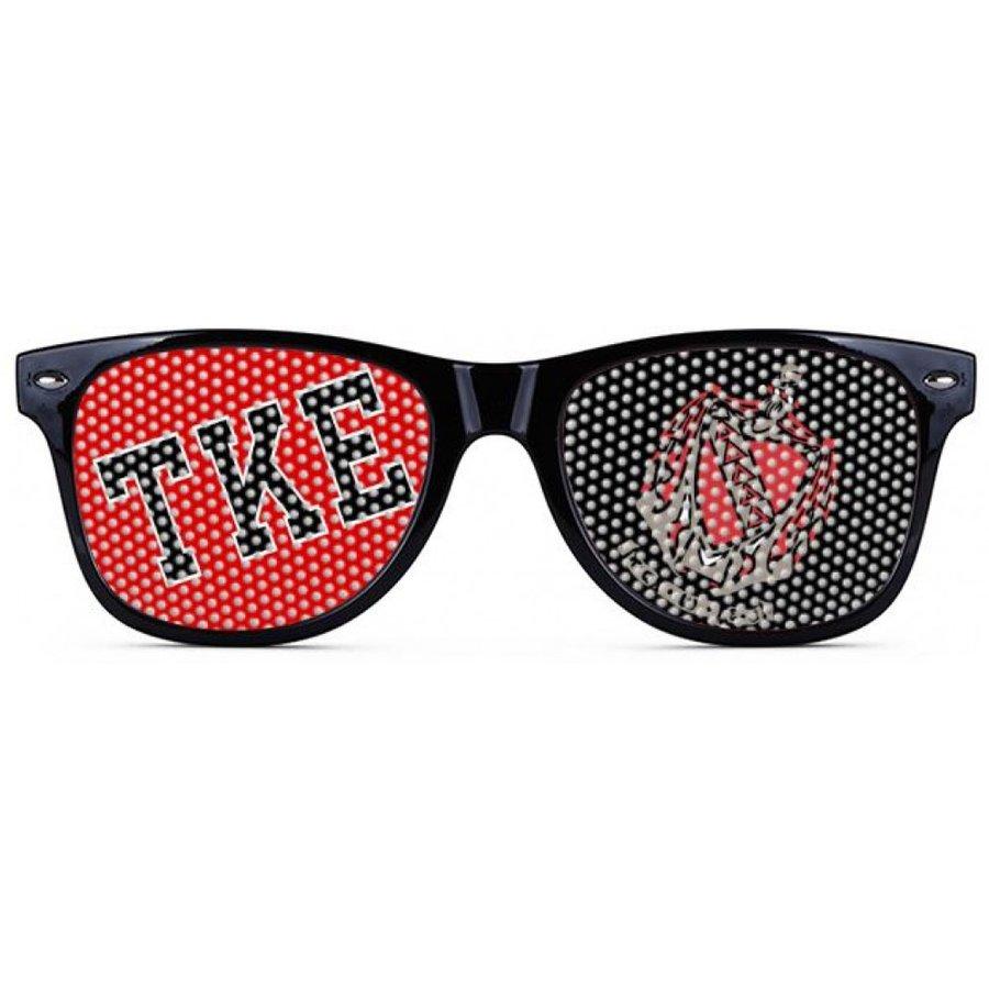 TKE Wayfarer Style Lens Sunglasses