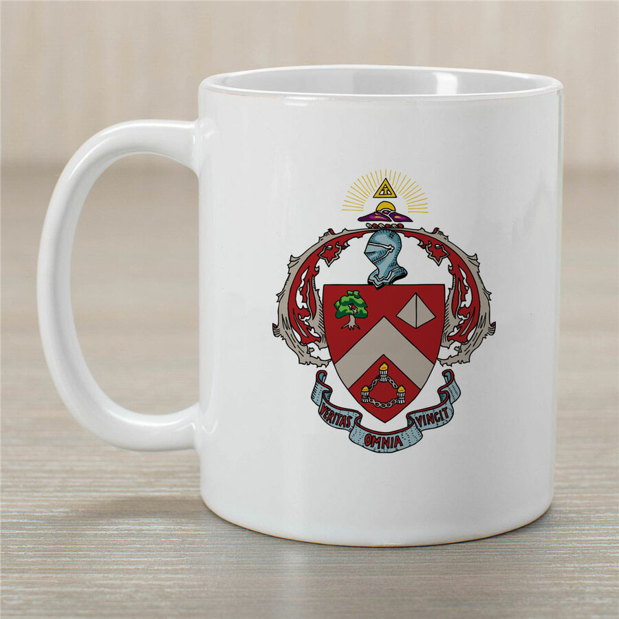 Triangle Greek Crest Coffee Mug