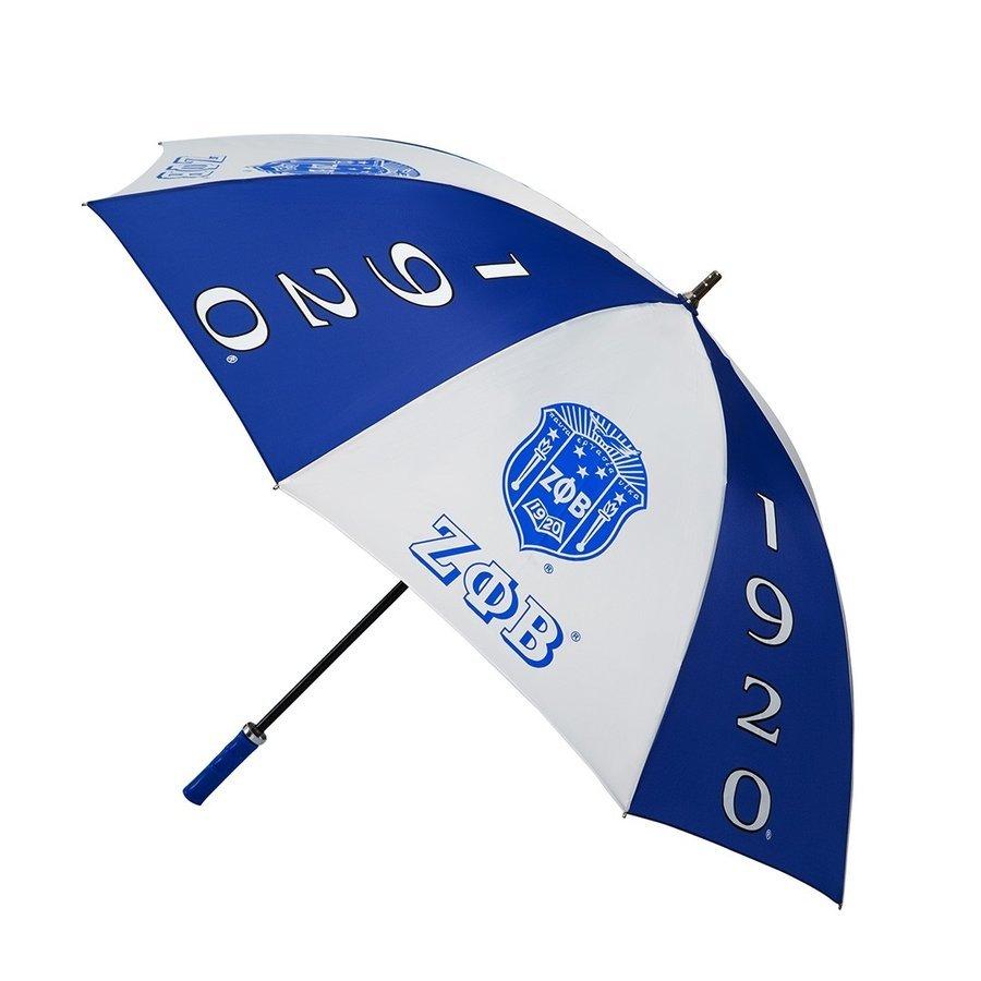 """Zeta Phi Beta 30"""" Jumbo Umbrella"""