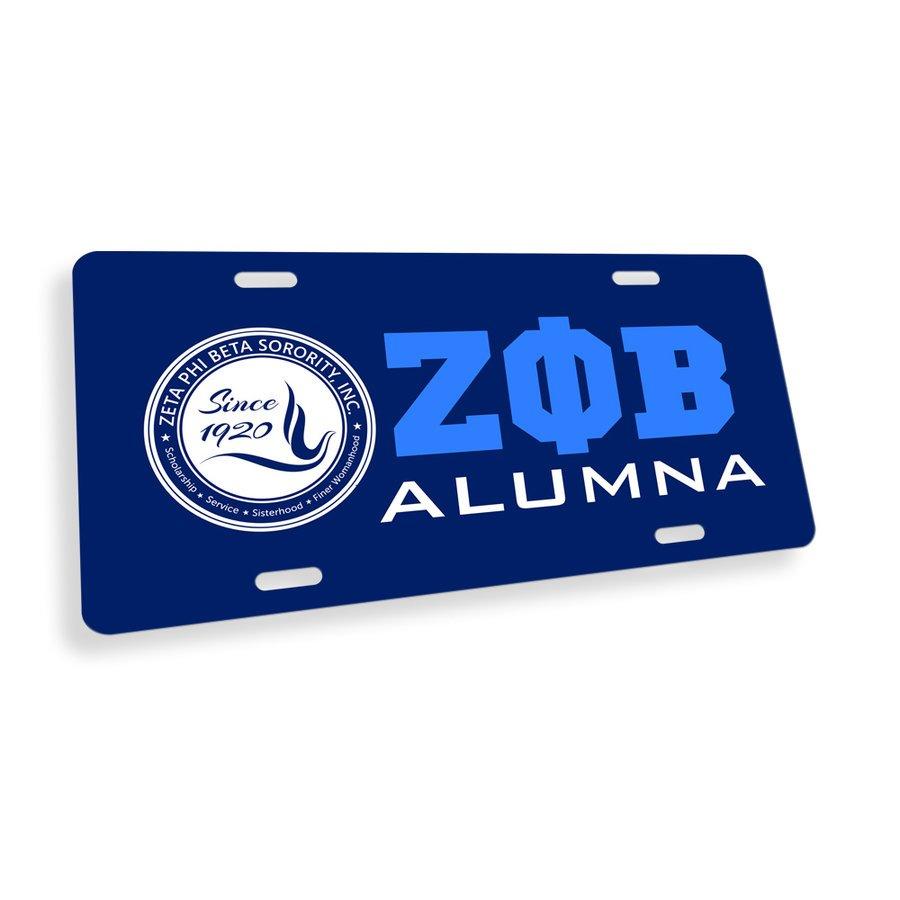 Zeta Phi Beta Alumna License Cover