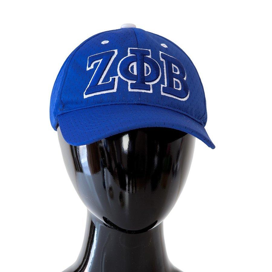 Zeta Phi Beta Hat - 3 Letter Flexfit Cap