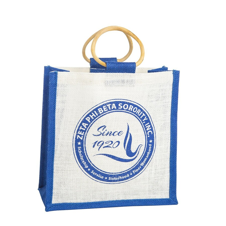 Zeta Phi Beta Jute Bag