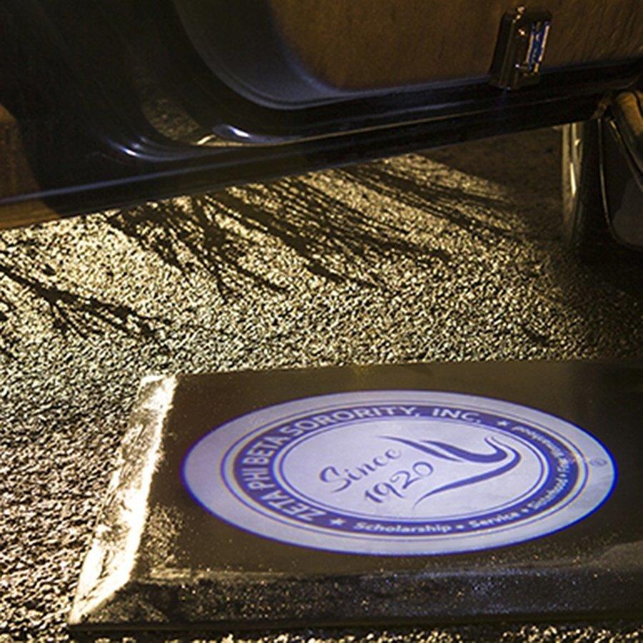 Zeta Phi Beta LED Car Door Light Set