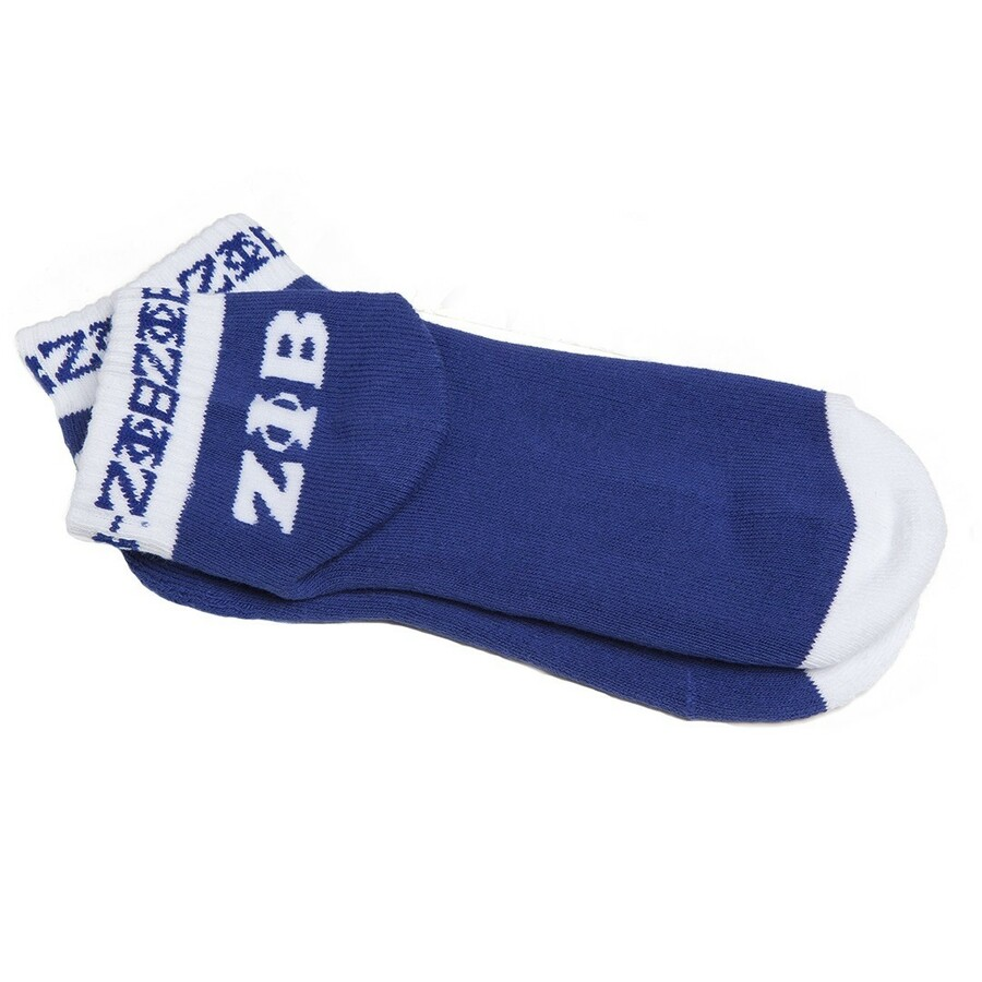 Zeta Phi Beta Ankle Socks