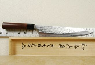 Anryu Blue #2 Hammered Gyuto 210mm