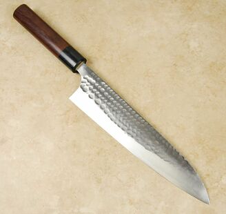 Anryu Blue #2 Hammered Gyuto 210mm