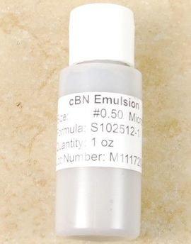 CBN 1 Ounce Emulsion .5 Micron Closeout Sale