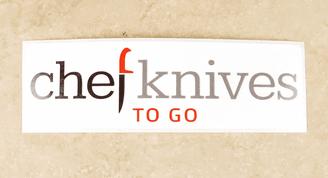 Chefknivestogo Logo Sticker