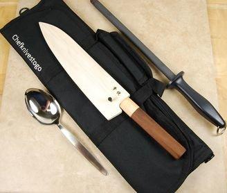 CKTG 5pc Pro Knife Roll Set - 25% Off!