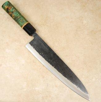 Yoshimitsu Fugen White #1 Gyuto 240mm Custom
