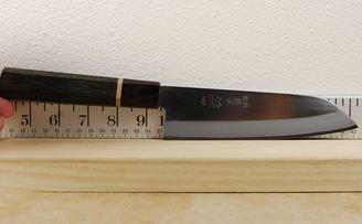 Gihei HAP40 Santoku 165mm Custom