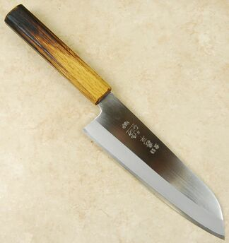 Gihei HAP40 Santoku 165mm Custom