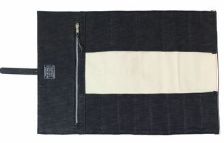 Hardmill Small Knife Roll Denim