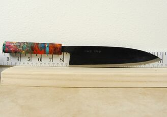 Ishikawa White #2 Black Gyuto 210mm Custom