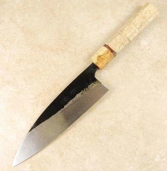 Ishikawa White #2 Black Funayuki 185mm