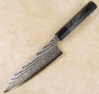 Kanjo VG10 Black Damascus Bunka 180mm