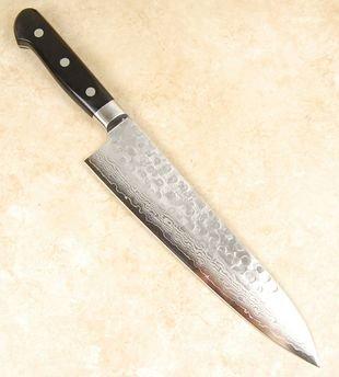Kikuichi Warikomi Damascus Gyuto 210mm