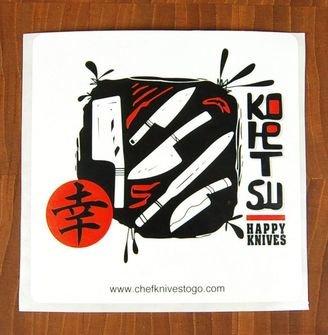 Kohetsu Knives Sticker