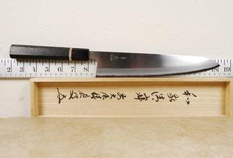 Kohetsu Shinano Blue #2 Gyuto 240mm Bog Oak