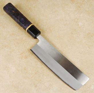 Kohetsu Shinano Blue #2 Nakiri 165mm