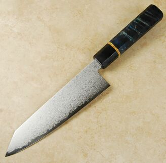Kohetsu VG10 Damascus Bunka 170mm Custom