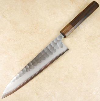 Konosuke SKD Tsuchime Gyuto 210mm Ebony