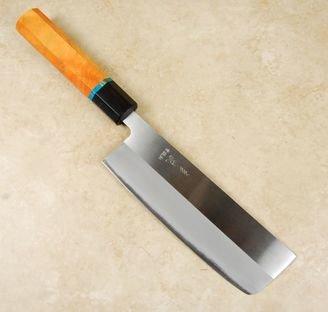 Kohetsu Shinano Blue #2 Nakiri 165mm Custom
