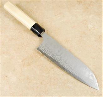 Masakage Shimo Santoku 170mm