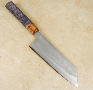 Matsubara Blue #2 Nashiji Bunka 170mm Custom