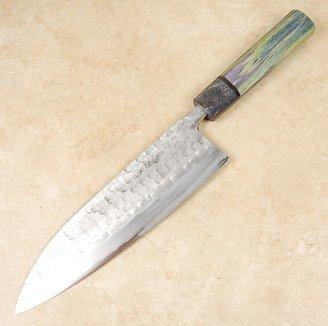 Matsubara Blue #2 Nashiji Gyuto 210mm Custom