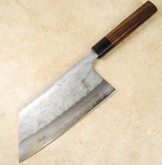 Matsubara Blue #2 Nashiji Kiri Cleaver 190mm