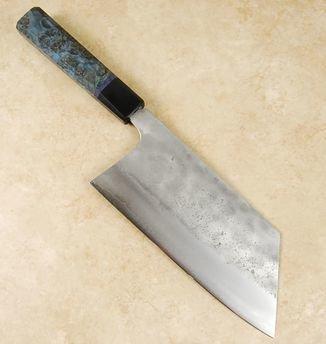 Matsubara Blue #2 Nashiji Kiri Nakiri 190mm