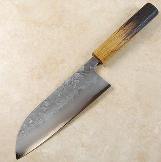 Matsubara Blue #2 Wavy Face Santoku 170mm