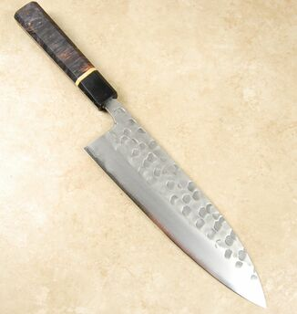 Matsubara Wavy Face Blue #2 Gyuto 210mm